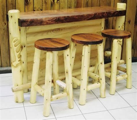 Captains Chairs Dining Room by Custom Bar Rustic Indoor Amp Outdoor Furniture