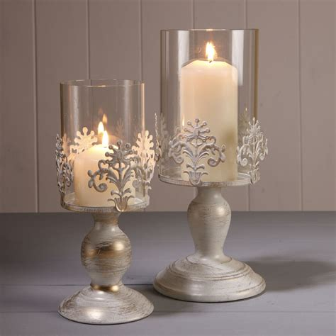 Decorative Candle Holders by Pillar Candle Lantern Glass Dome Holder Wedding Decorative