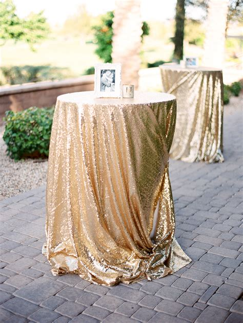 gold sequin wedding linen elizabeth anne designs