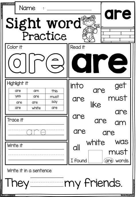 Sight Word Practice (primer)  Sight Word Games  Sight Words, Sight Word Practice, Sight Word
