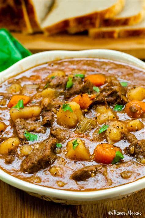 instant pot beef stew   secret ingredient flavor