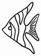 Fish Angel Coloring Template Craft Angelfish Pattern Drawing Clipart Wings Clipartmag Sky Getdrawings sketch template