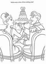 Coloring Disney Princess Adults Sheets Colouring Space Weddings Adult Para Getdrawings Coloringdisney sketch template