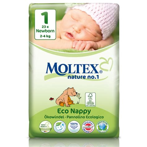 moltex nature disposable nappies newborn size 1 pack of 23 moltex nappies
