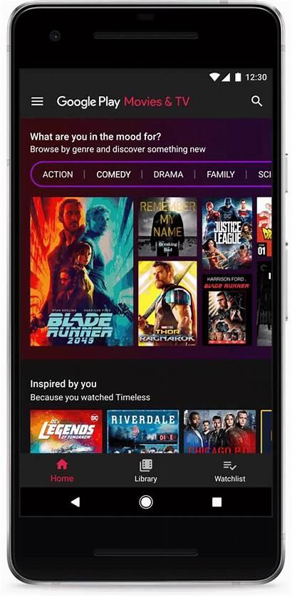 Play Tv Google Movies App Streaming Stream