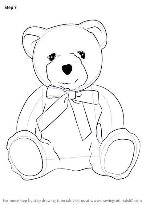 learn   draw  teddy bear soft toys step  step