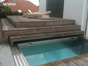 Mini Pool Terrasse : 273 best images about pool on pinterest fiberglass pools ~ Michelbontemps.com Haus und Dekorationen