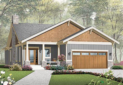 craftsman  car garage home plan