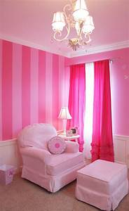 Cool, Wall, Paint, Idea, Nursery, Pink, Bedroom, Walls, Pink, Bedrooms