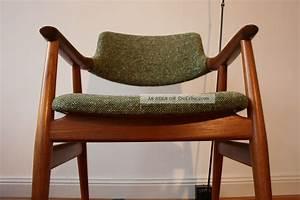Stuhl Danish Design : erik kirkegaard glostrup teak stuhl armchair danish design midcentury 50er 60er ~ Frokenaadalensverden.com Haus und Dekorationen