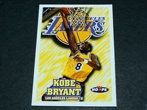 Costs are estimated, final cost based on closing value. 1996-97 NBA Hoops Kobe Bryant Rookie Card #75   eBay