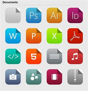 4 fantastici set di icone per windows ios 7 beta style With documents typing job