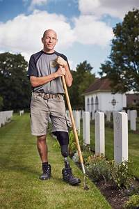 Meet the amputee veteran given a second chance working at ...