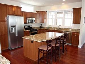 Top 28+ - How Much Overhang For Kitchen Island - smaller