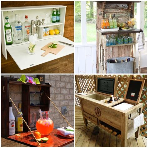 Outside Bar Ideas by Creative And Low Budget Diy Outdoor Bar Ideas Diy Smartly