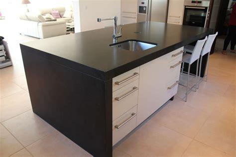 ikea cuisine ilot central plans de travail de cuisine marbrerie bonaldi