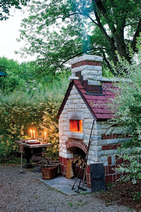 Backyard Pizza Oven by How To Build An Outdoor Brick Oven