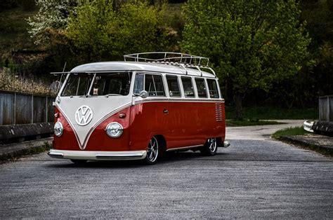 legendary volkswagen kombi  futuristic high tech