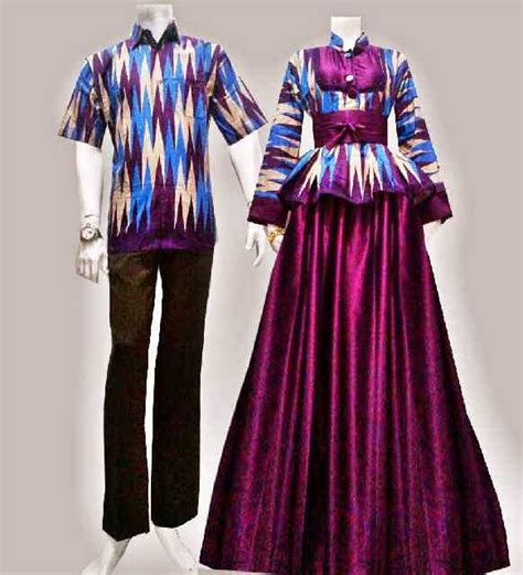 best kombinasi batik tenun
