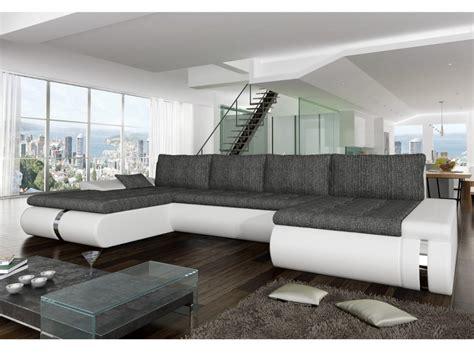 vente privee de canape sof 225 cama rinconero bicolor negro y gris azelma