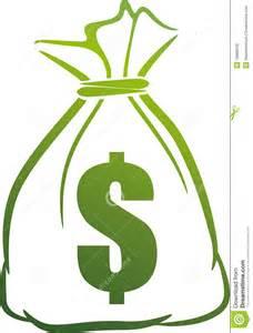 Green Money Bag Clip Art