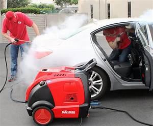 Mobile Car Wash With The Optima Steamer U2122