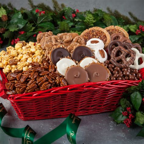 southern holiday sweets gift basket holiday candy gift