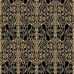 Arabesque Design Wallpaper