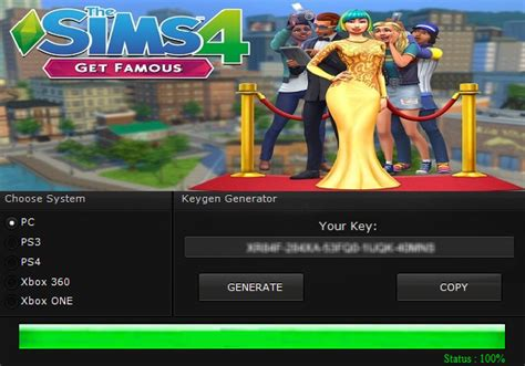 The Sims 4 Get Famous Serial Key Cd Key Download Free