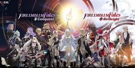 fire emblem fates birthright conquest revelation