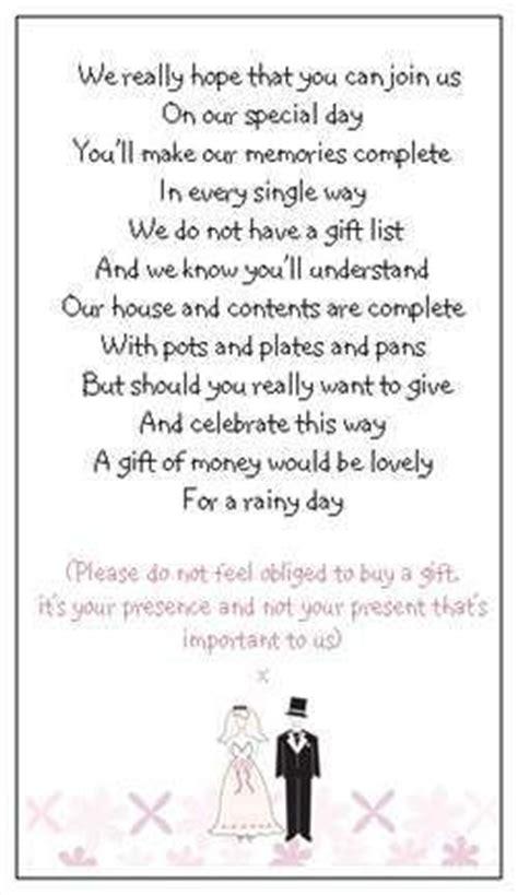wedding gift poem ideas  pinterest