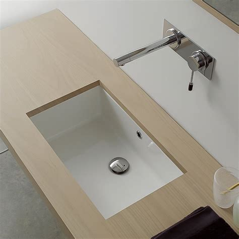 Undermount Bathroom Sink Lowes by Nameeks Scarabeo 8090 Scarabeo Miky Washbasin Under Mount