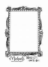 Mirror Template Hand Coloring Preschool Held Templates Drawing Pages Sheet sketch template