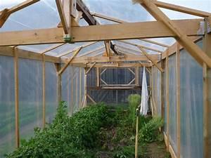 Faire Sa Serre En Polycarbonate : comment construire une serre de jardin en bois ~ Premium-room.com Idées de Décoration