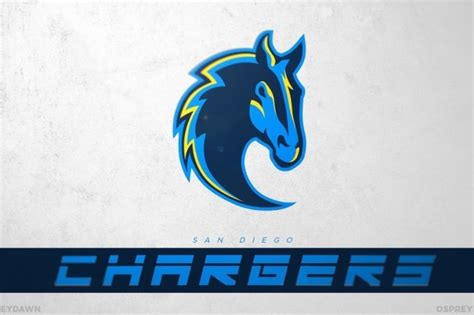 Thoughts On This Redesigned Chargers Logo?