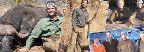 bob parsons donald eric trump  zimbabwe hunting