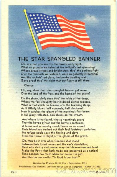 star spangled banner patriotic
