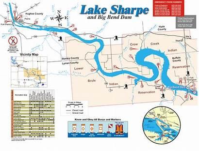 Bend Lake River Maps Recreation Dam Dams