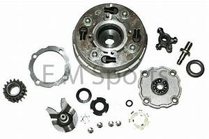 Chinese Atv Quad 4 Wheelers Lifan Engine Automatic Clutch 110cc Parts