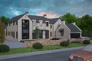 3d Exterior Design Of House Rendering Services Menlo Park