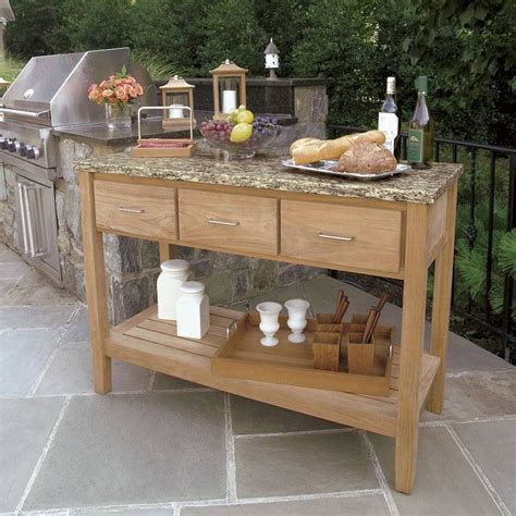 Outdoor Sideboard Table by 15 Inspirations Of Outdoor Sideboard Cabinets