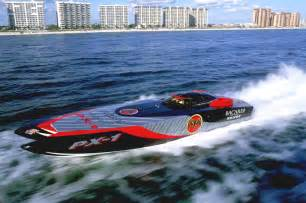 Offshore Race Boat Racing