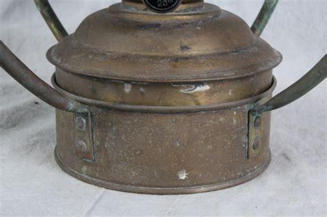 ideal brenner 20 oil l parts l507 vintage ideal brenner brass 20 quot hanging oil lamp mariti
