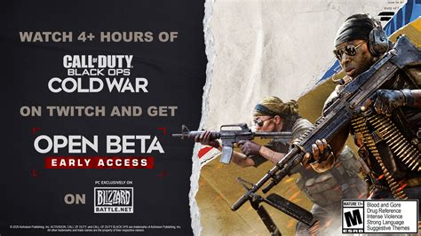 Call Of Duty: Black Ops Cold War Beta Twitch Drops Guide ...