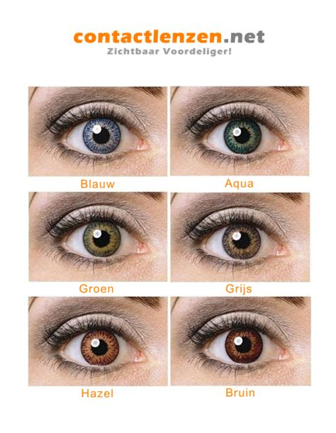 Len Bestellen Belgie by Kleurlenzen Nu Voordelig Bestellen