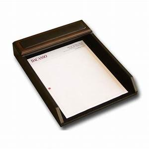 walnut black leather letter tray great deals on letter With leather letter tray