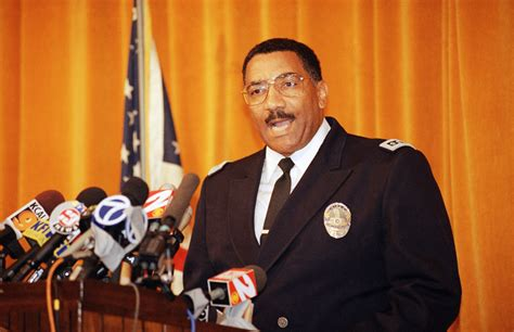 lapd chief willie williams  died  kpcc