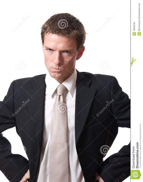 12256 angry businessman stock photo angry businessman royalty free stock photo image 18345105