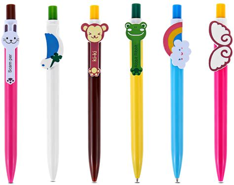 Dropshipping For Cartoon 0.5mm Blue Ballpoint Pen