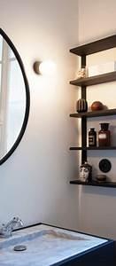Applique Salle De Bain Noire : appliques murales et spots design et singuliers luminaires nedgis ~ Teatrodelosmanantiales.com Idées de Décoration
